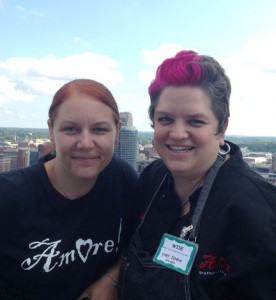 Chef Jenns of Amore Grand Rapids at WISE event Grand Rapids Business women